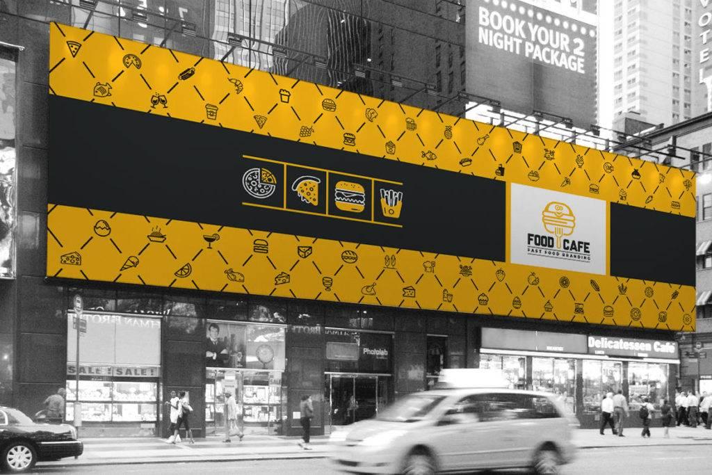 fast food digital billboard 1024x683