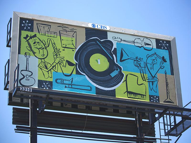 jazz digital billboard