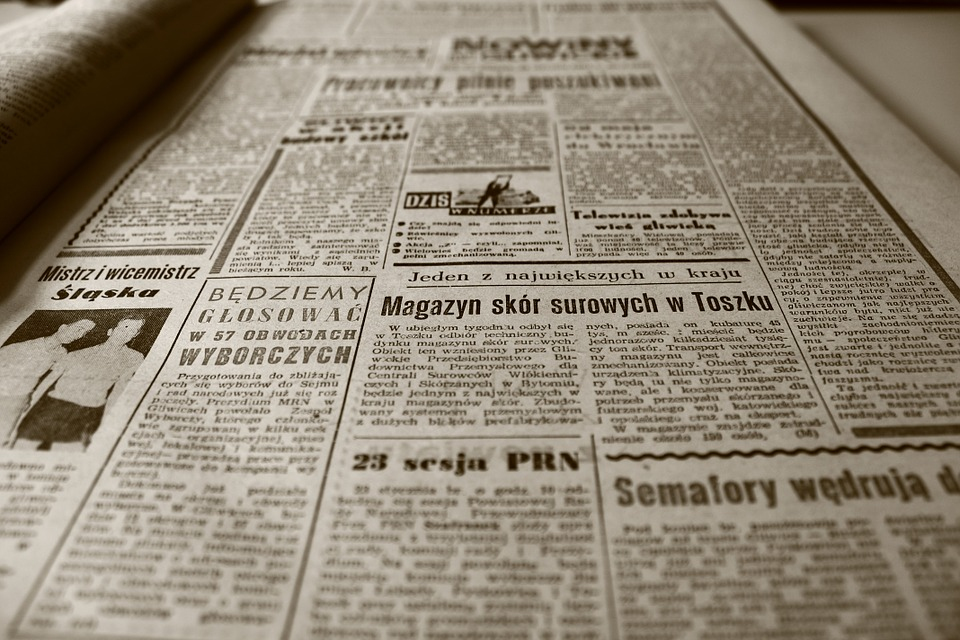 old newspaper 350376