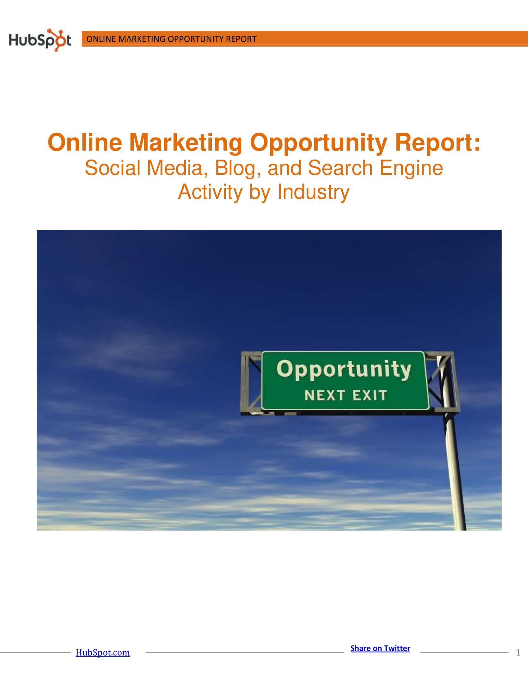 online marketing report 01