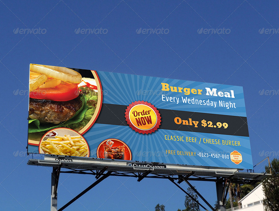 14  restaurant billboard designs and examples