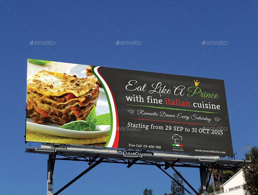14  restaurant billboard designs and examples