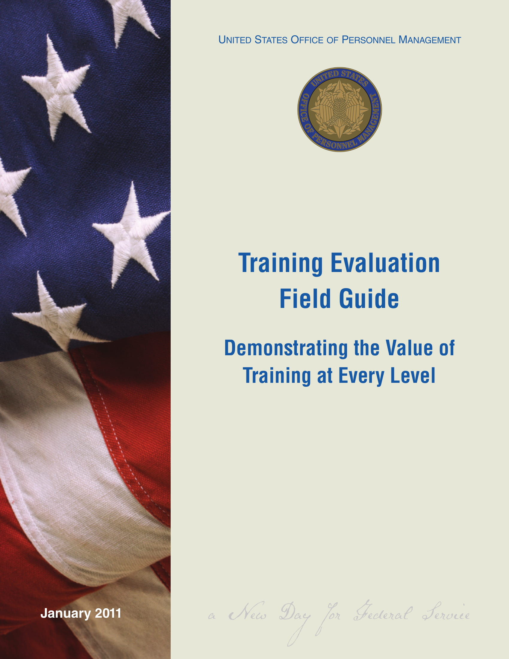training evaluation field guide 001