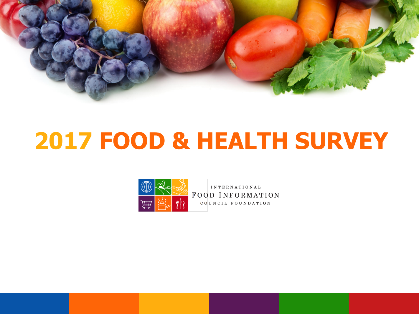 2017 food and health survey final report example