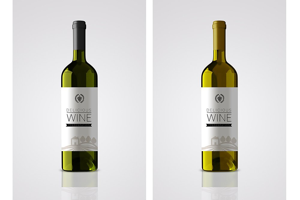 22delicious wine22 wine bottle design example