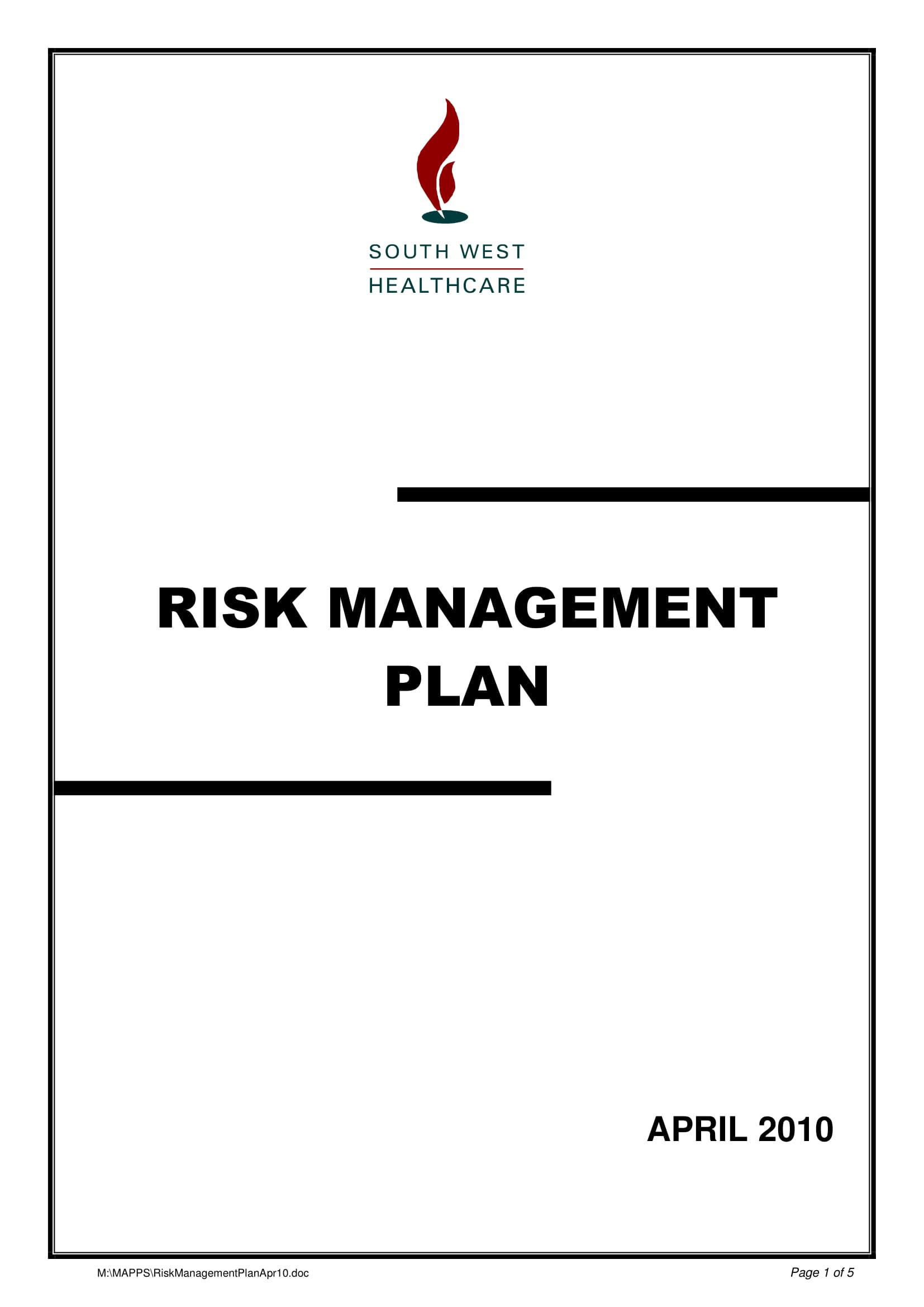 403255052riskmanagementplanapr10 1