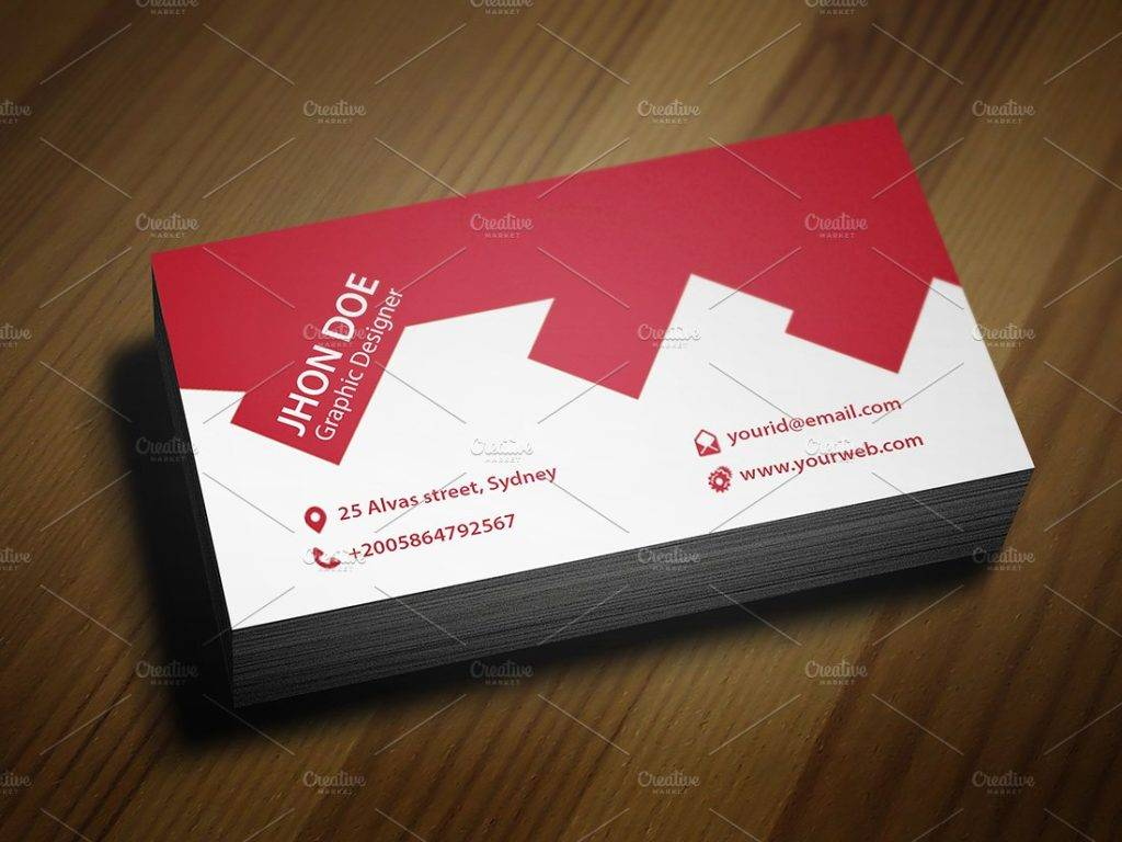 architect or construction business card example