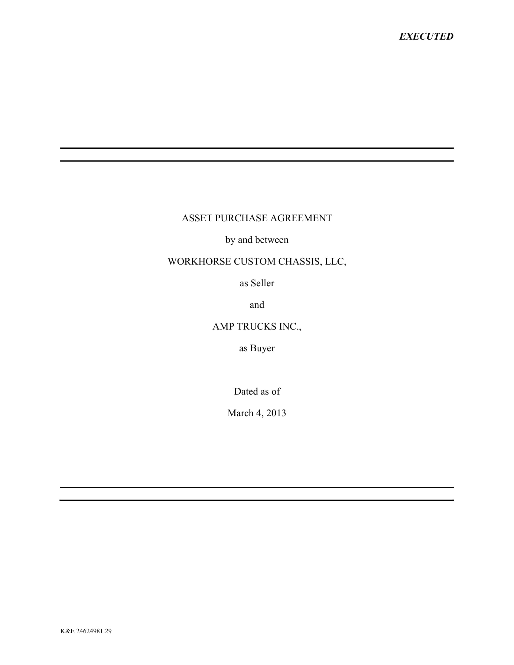 asset purchase agreement example