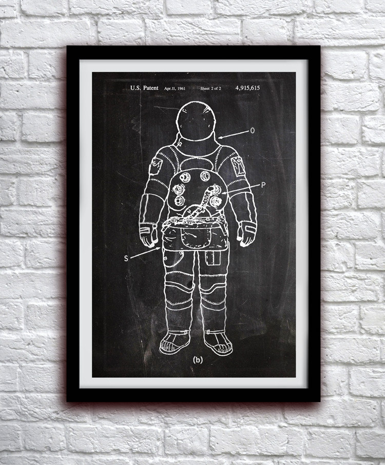 astronaut poster example