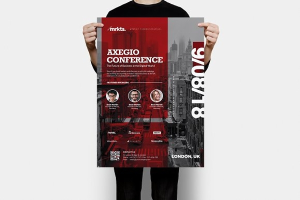axegio conference poster example