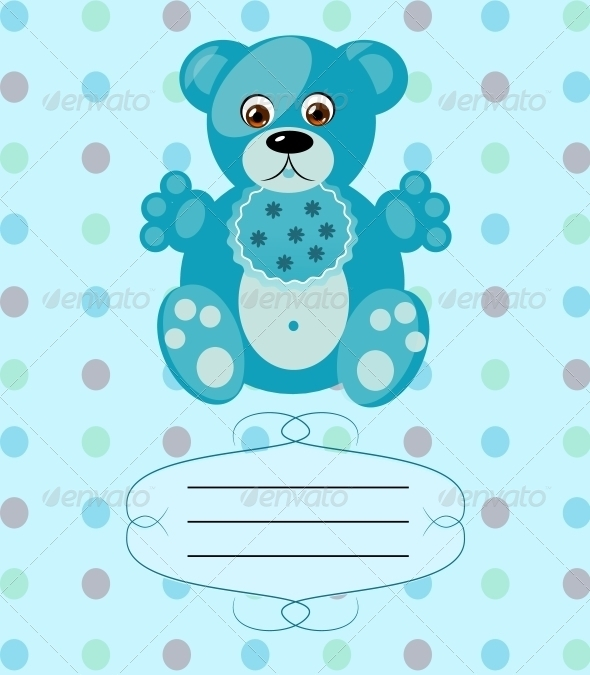 baby boy greeting card example
