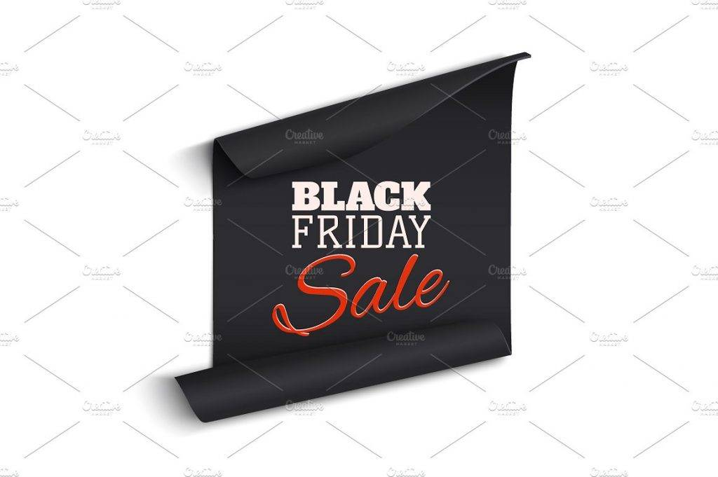 black friday sale banner example