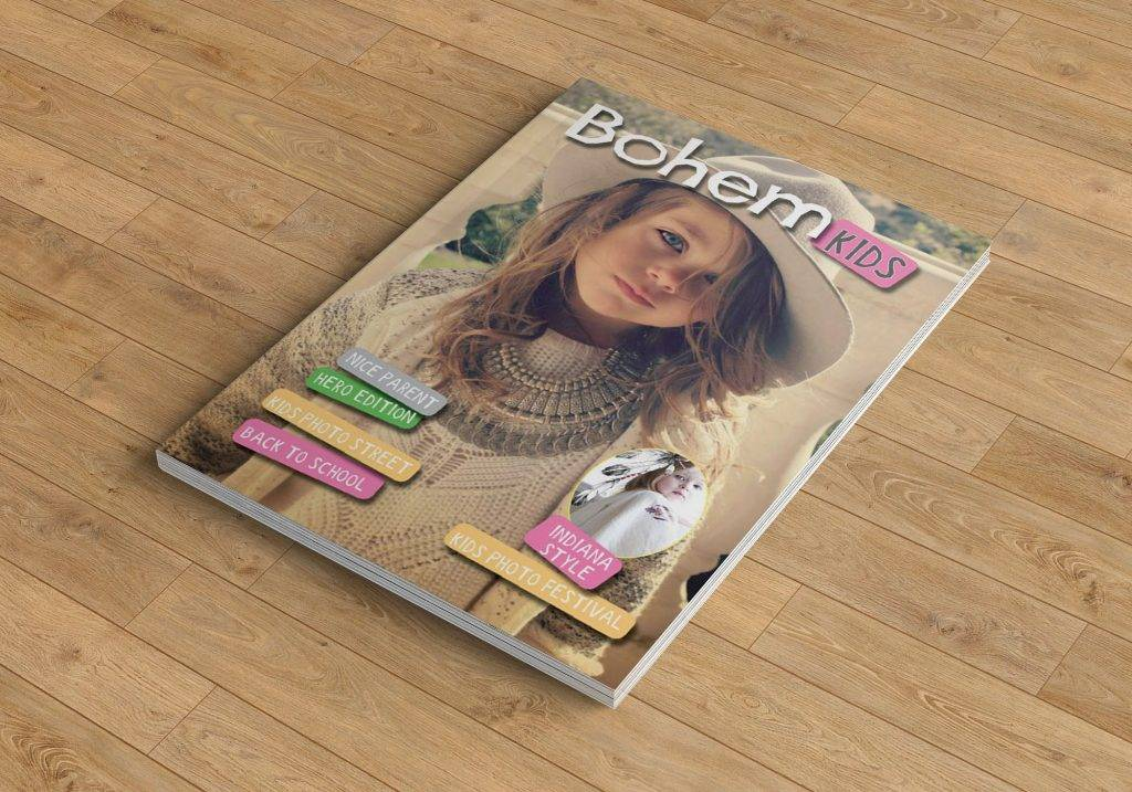 bohemian kids toy catalog example