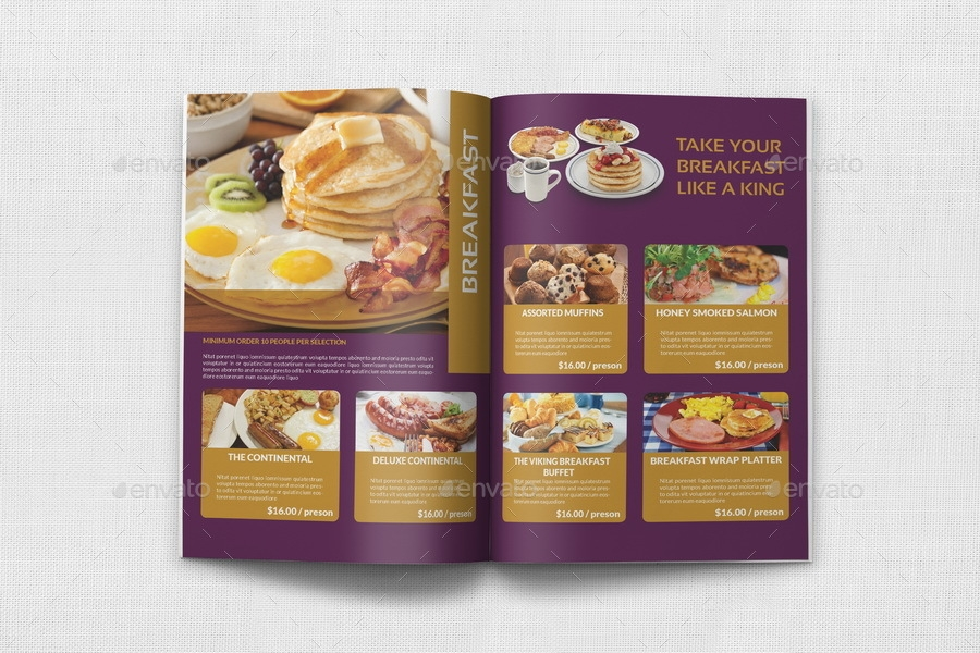 8 catering brochure designs and examples psd ai