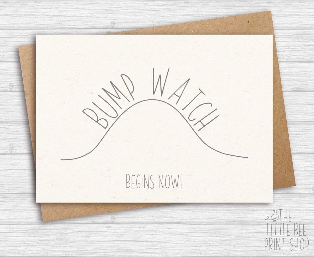 bump watch postcard example