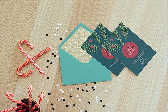 business happy holiday card example