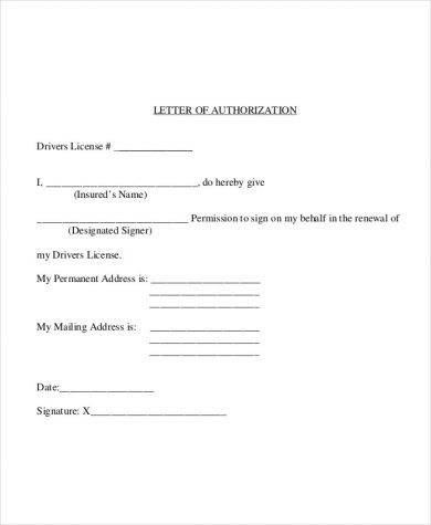 48 authorization letter examples pdf doc car driver authorization letter spiritdancerdesigns Images