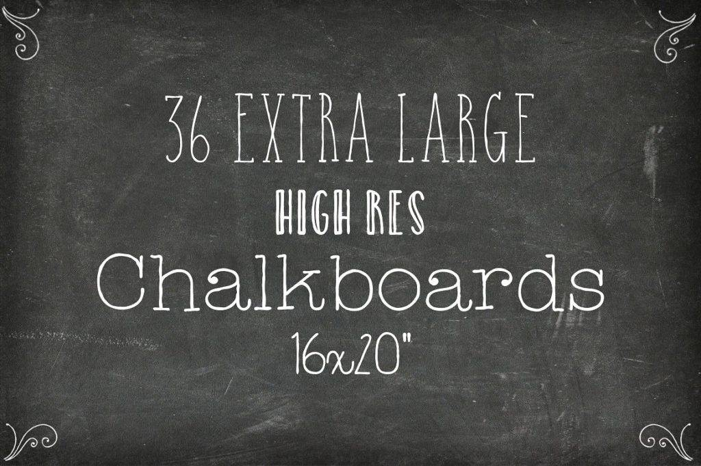 chalkboard backgrounds xl edition