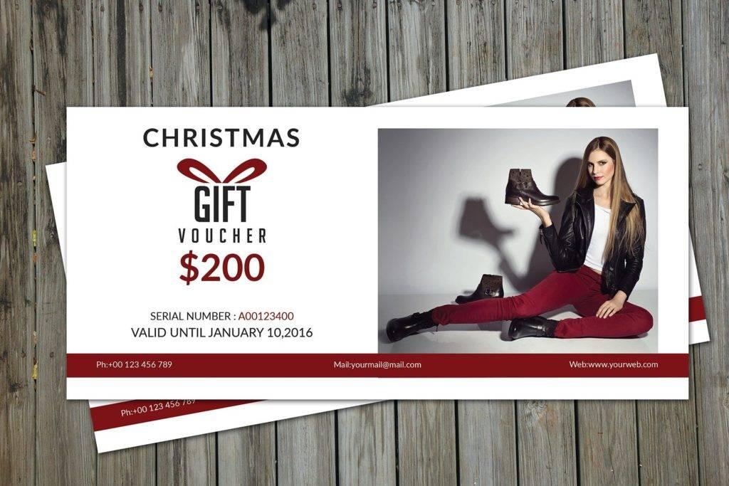 christmas cash voucher example