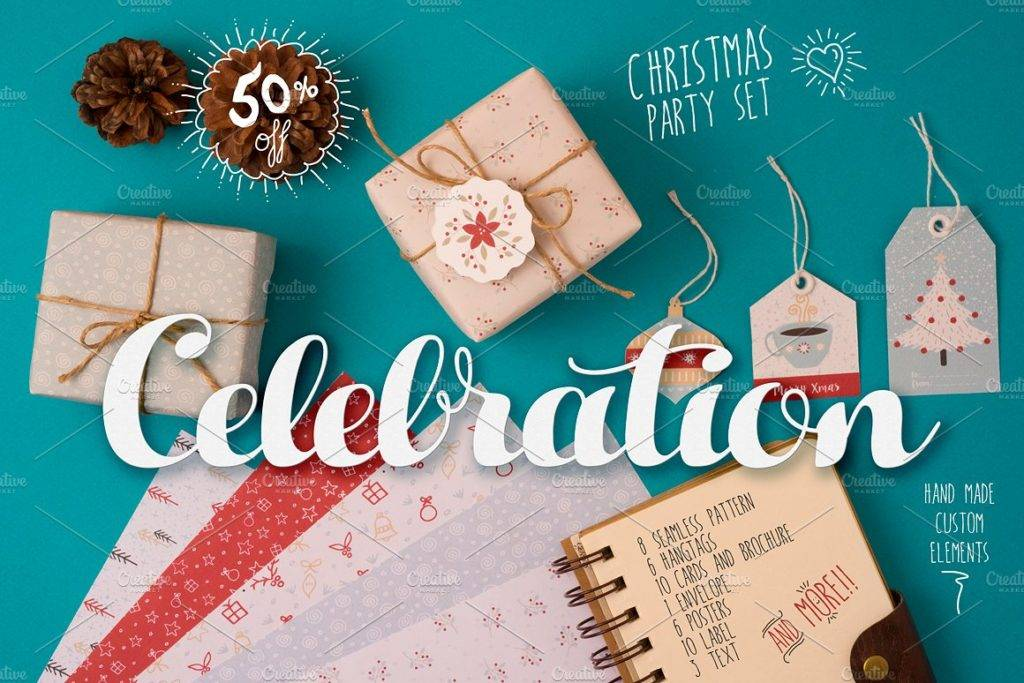 christmas handmade celebration pack example
