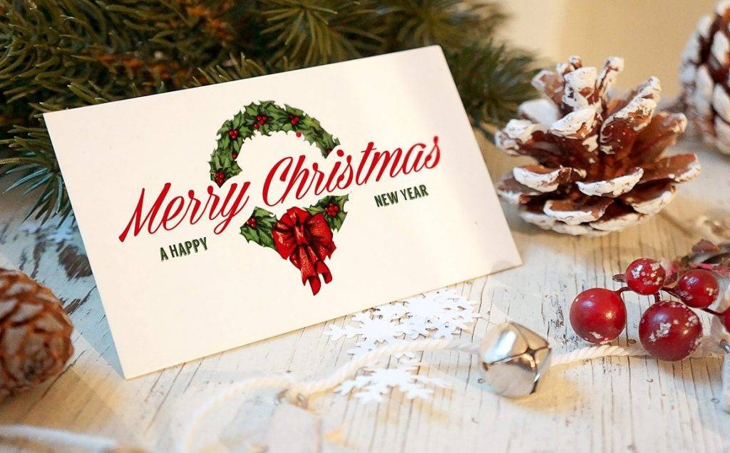 christmas new year card template in psd example 1024x636