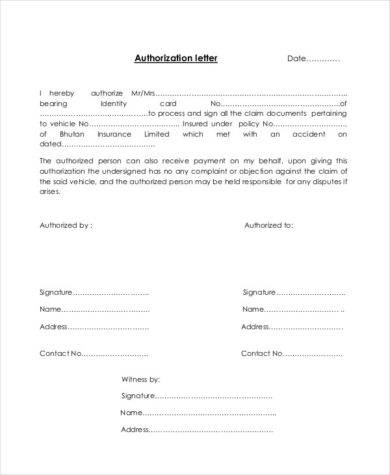 48+ Authorization Letter Examples - PDF, DOC | Examples