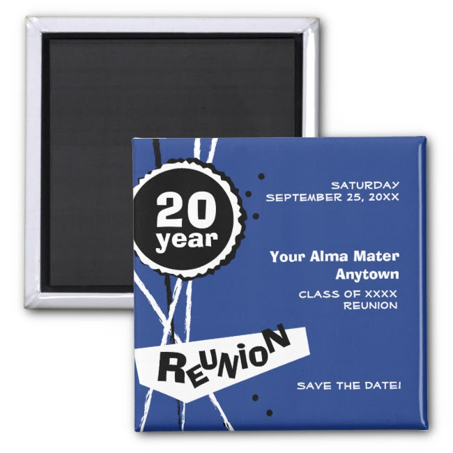 class reunion invitation design example