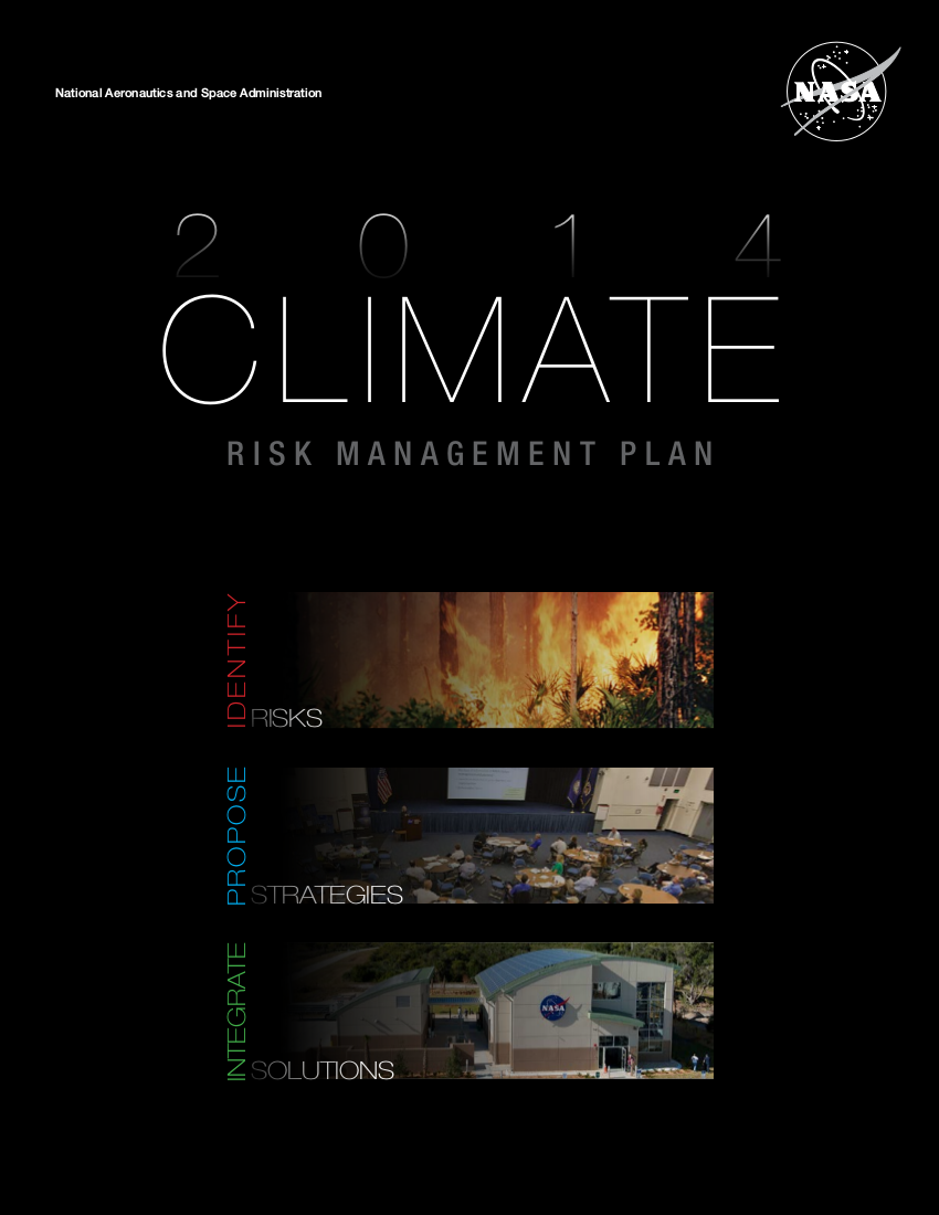 climate risk management plan example