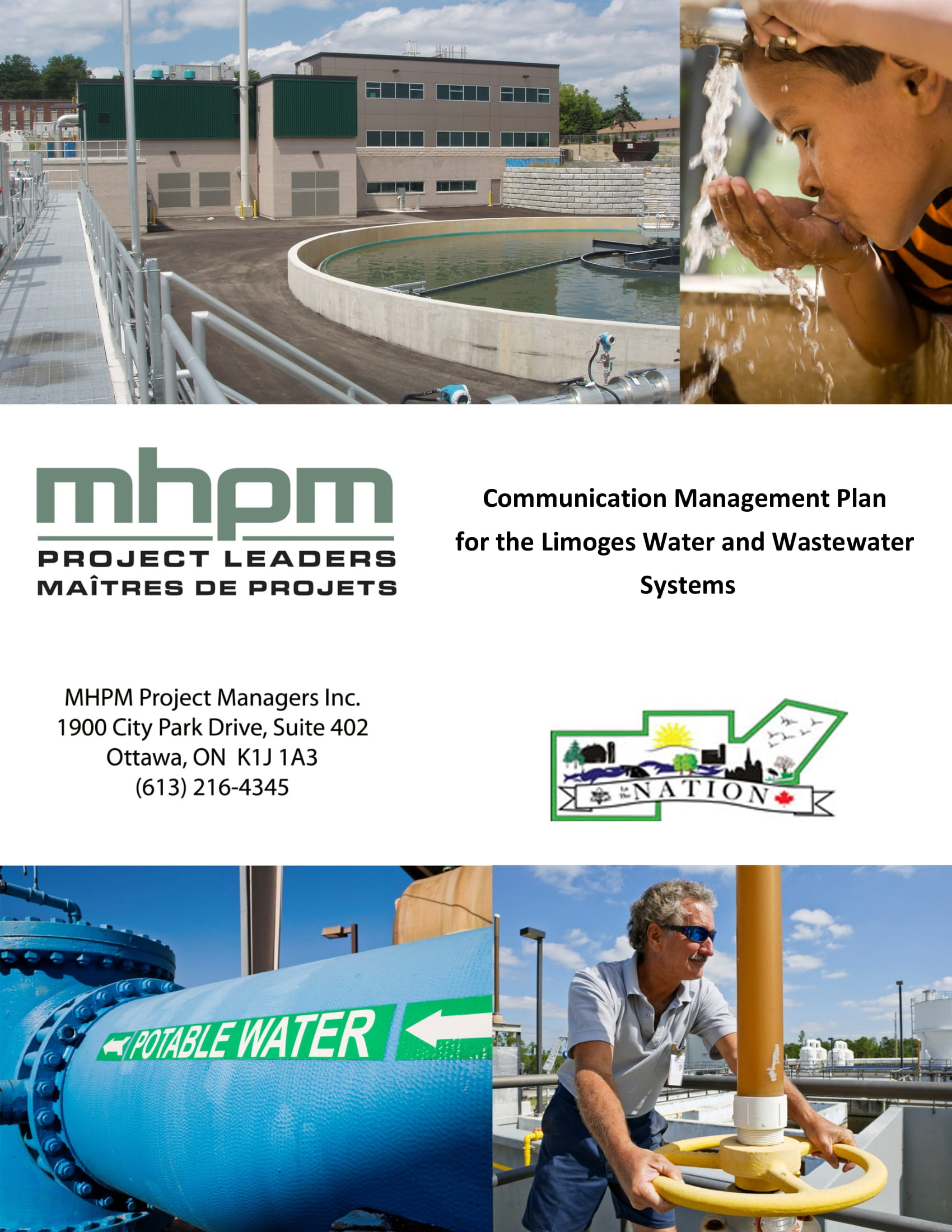 communication management plan template example