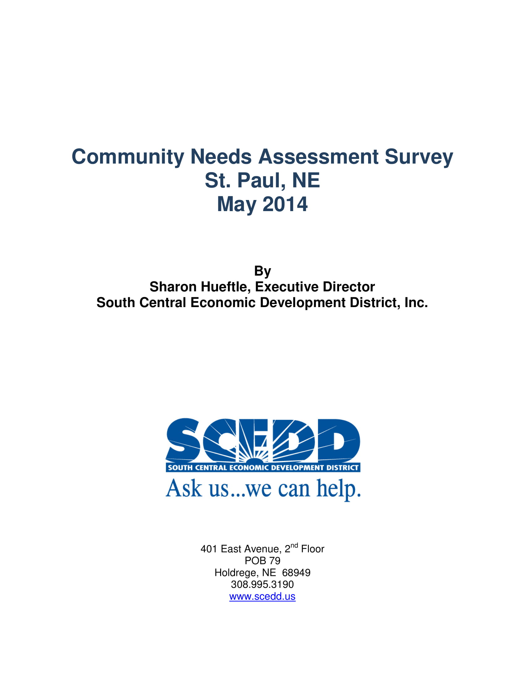 human services needs assessment Human services needs assessment • provider and citizen survey results • 5 individuals solicited as part of the 200 citizen's service user sample were recruited to participate in a different manner to protect and maintain their.
