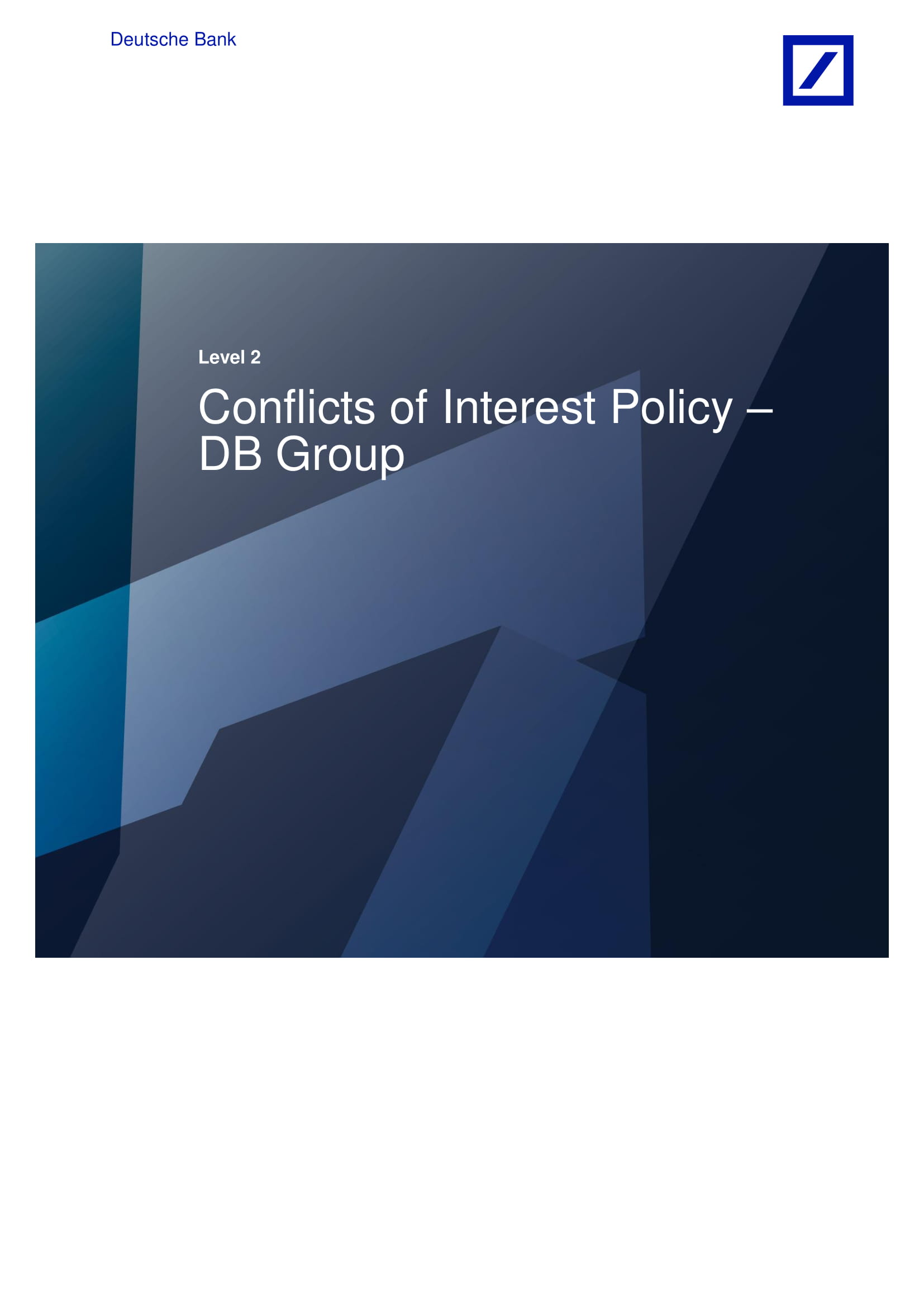 conflicts of interest policy 01