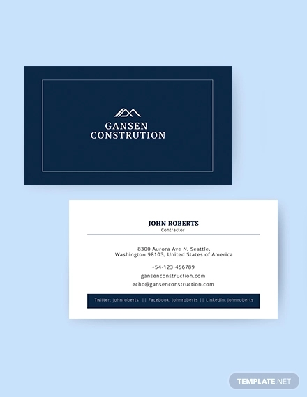 construction business card1