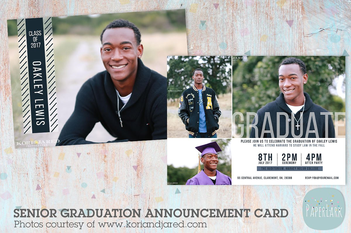 cool graduation greeting card example