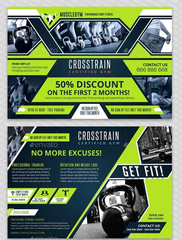 crosstrain gym promotion voucher example1
