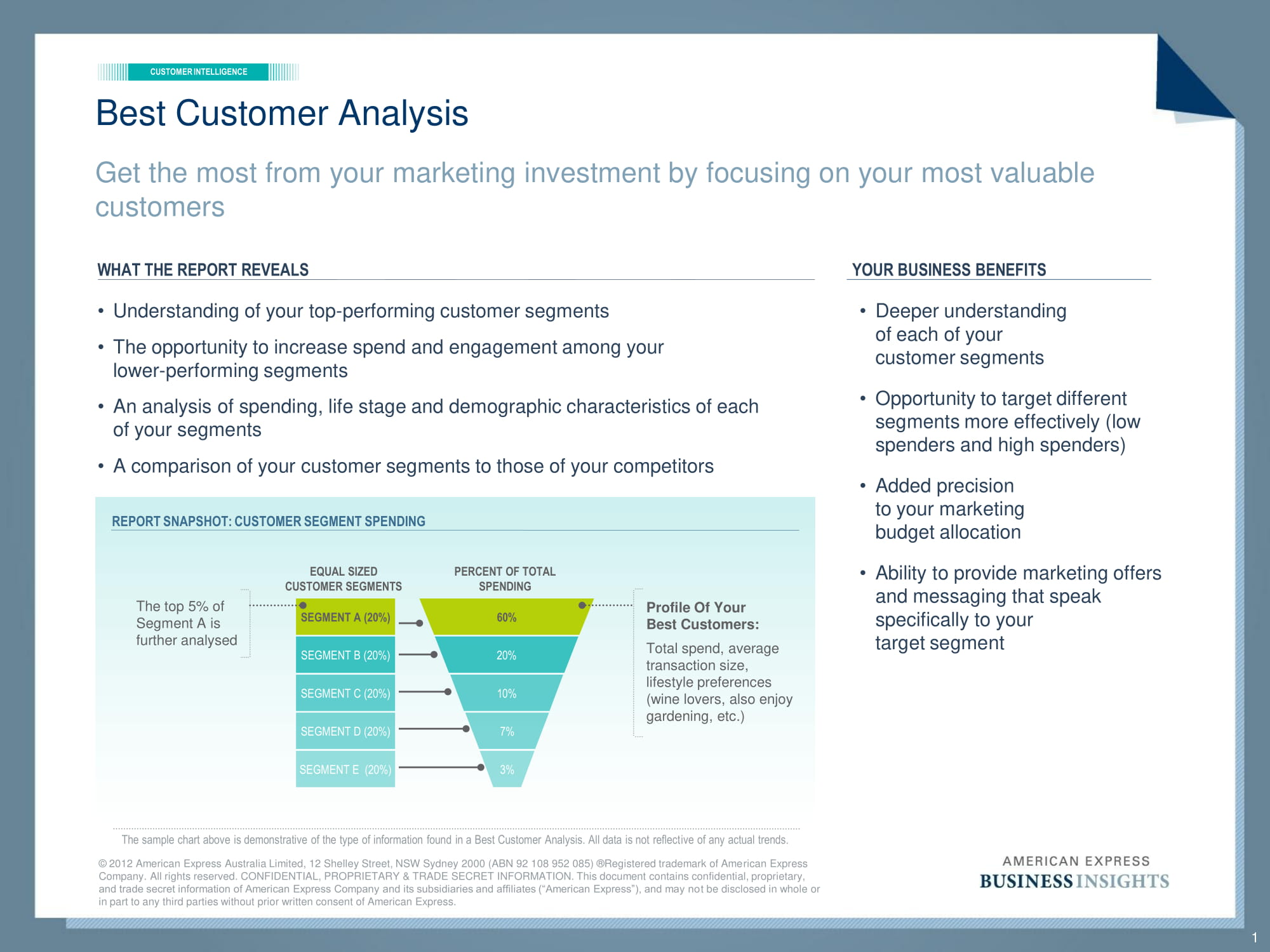 18  customer analysis examples