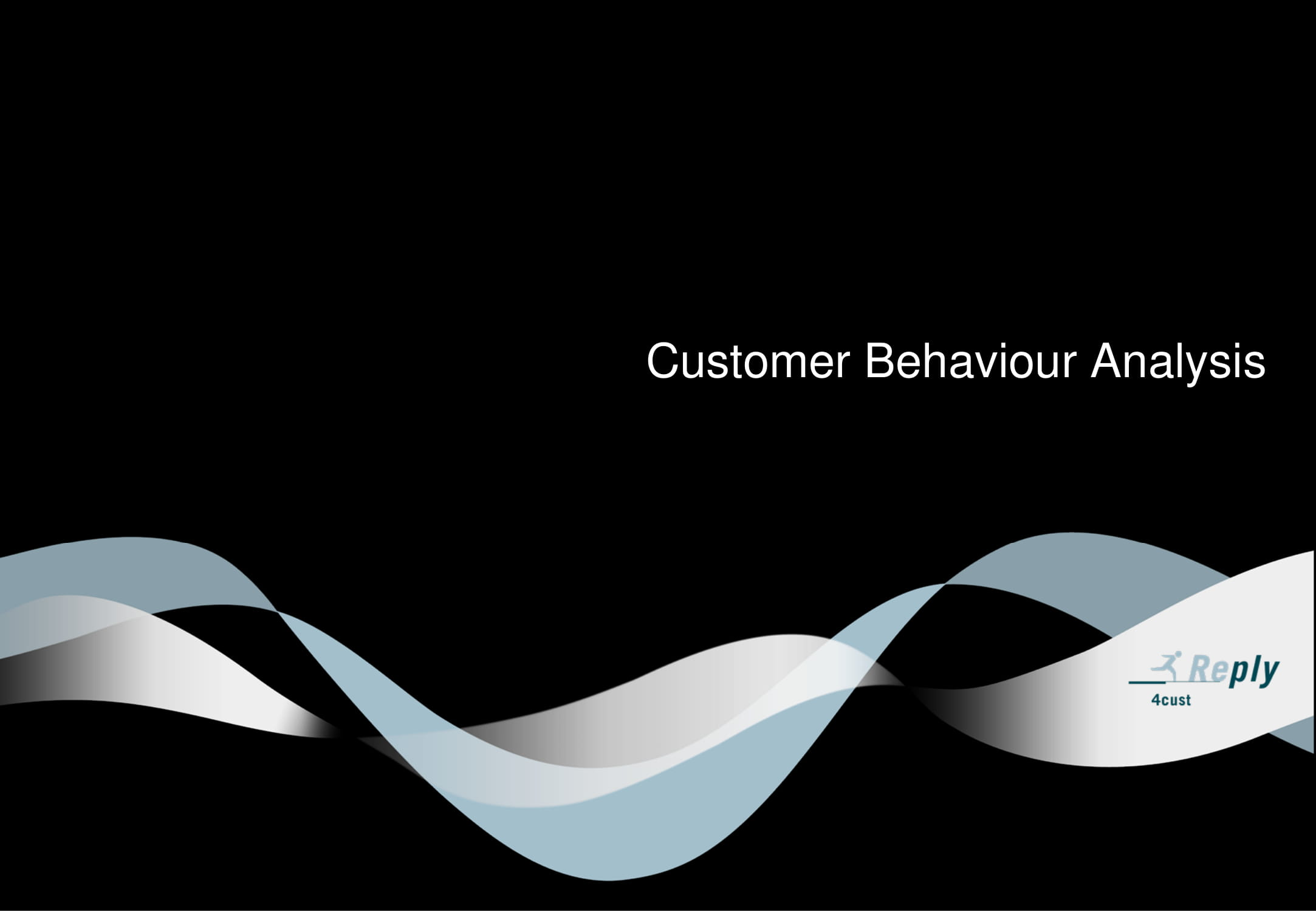 customer behavior analysis example