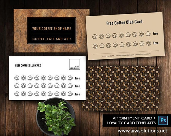 customer loyalty business card