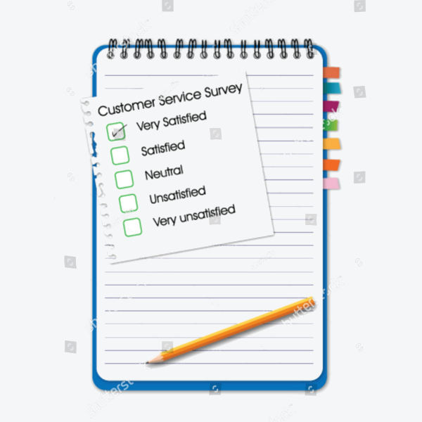 Customer Service Comment Card Example