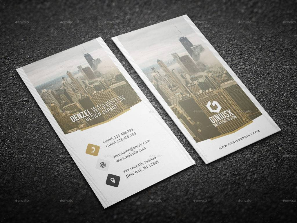customizable creative business card example