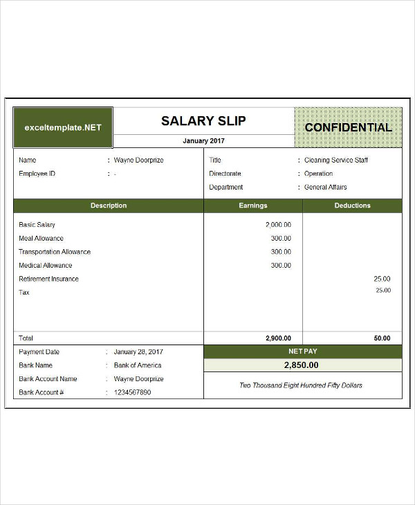 customizable salary slip example1