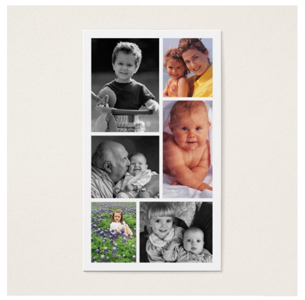 cute photography studio business card example