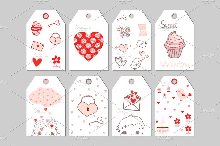 cute tag design example