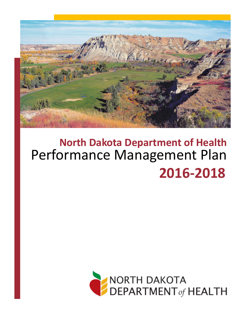 department of health performance management plan example