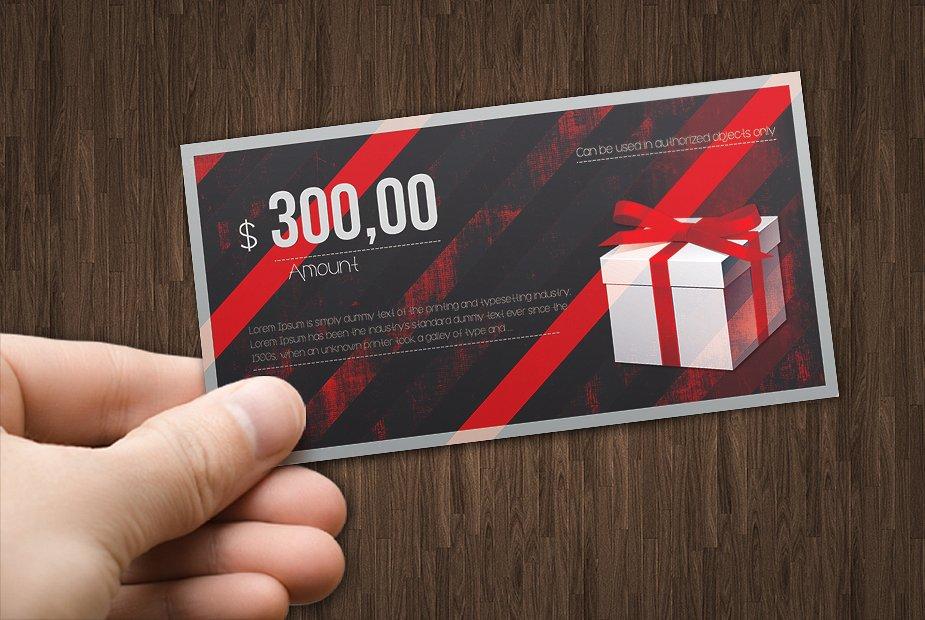 devil red cash voucher example
