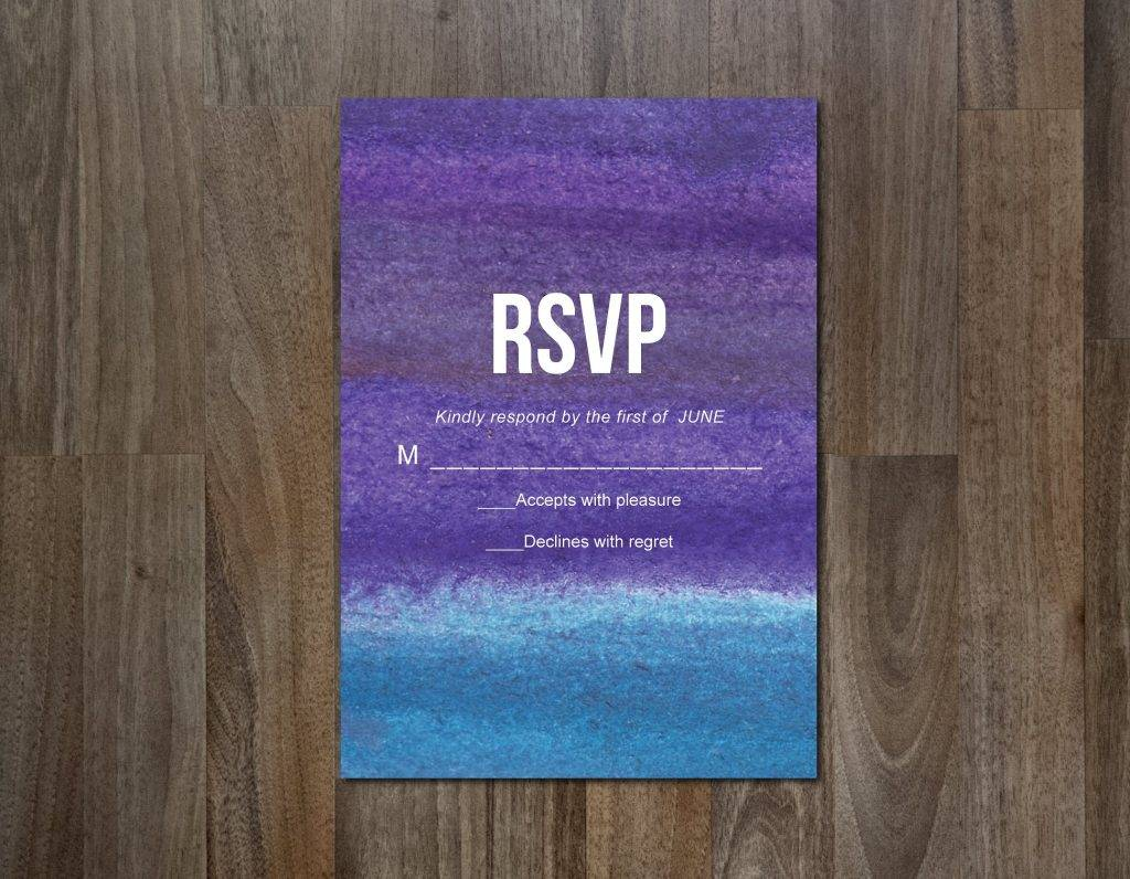 downloadable rsvp card example