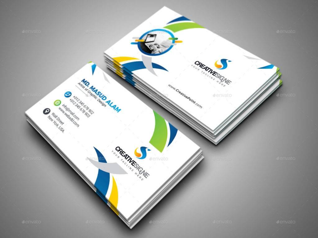 editable creative business card example