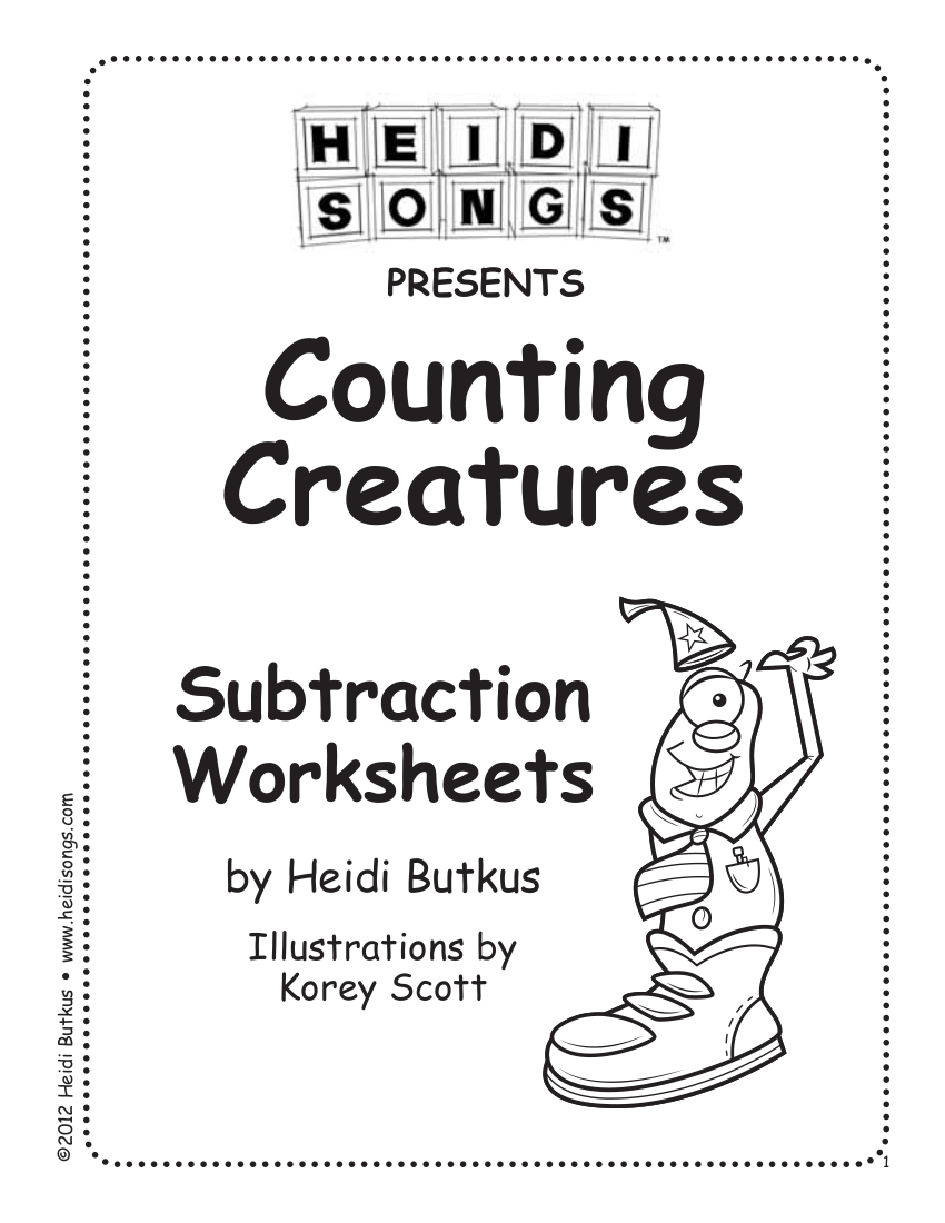 editable subtraction worksheets example