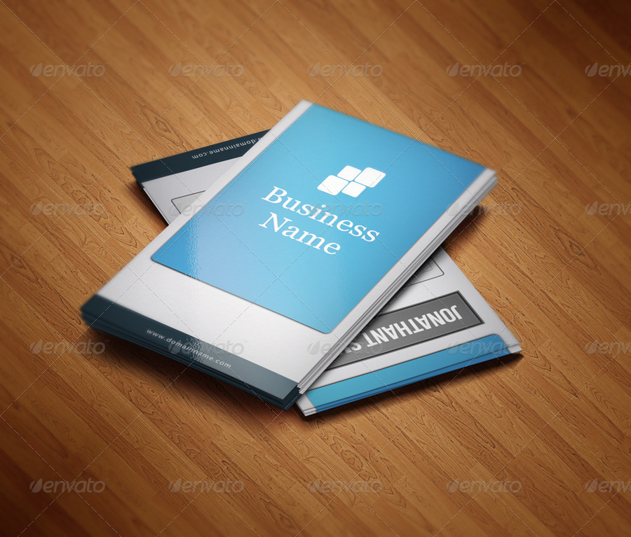 editable web designer business card