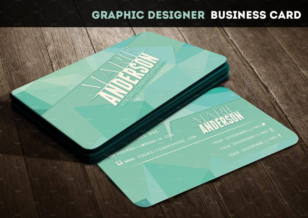editable web designer business card1