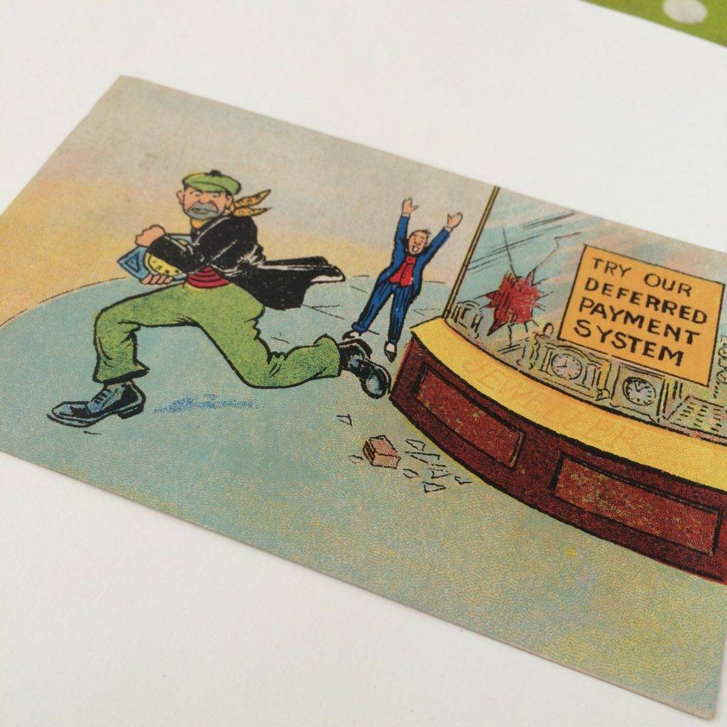 edwardian funny postcard example